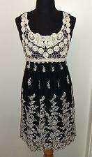 orig YUMI ★ TRAUM Kleid Spitzenkleid M L 38 40 Dress NEU beige cream schwarz rar