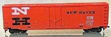 New Haven Railroad 50' Plug Door Box Car HO Tyco 339-B Vintage Circa 1975 O Box
