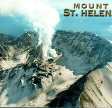 Mount St. Helens aerial view volcano Mt Hood Cascade Range mountain WA Postcard