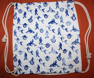 Lululemon SeaWheeze Half Marathon Cinch Bag 2013 Mountie Orca Mermaid Sasquatch