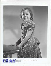 Shirley Temple Susannah Of The Mounties R.I. 88 VINTAGE Photo