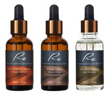 VitaminC Serum+Retinol+24K Gold Serum_AM/PM_Anti-Aging Defense Treatment -3x30mL