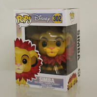 Funko POP! Disney - The Lion King Vinyl Figure - SIMBA (Leaf Mane) #302 *NM BOX*
