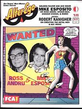 Alter Ego # 54 Comics Fanzine Magazine Mike Esposito Wonder Woman Ross Andru