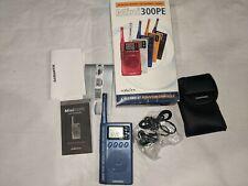 Blue Eton Mini 300PE AM FM Shortwave Radio World Band Receiver with Box Tested