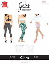Jalie 3887 Clara High-waisted Leggings in 3 Lengths Sewing Pattern Women & Girls