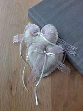 Wedding party favour gift (heart shaped, can be filled with a candy)