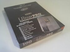 Ultra Pro 100 ct Lot 9 Pocket Standard Card Protective Pages NIP New Protector