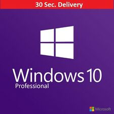 Windows 10 Pro 64/32 Authentic Product Key License USA