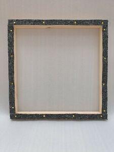 Rug hooking frame / Punch needle frame  50 x 50 cms