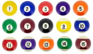 Table Boule de Billard 57,2mm Poolbillardkugel Poolball Accessoire