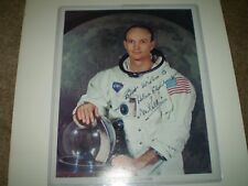 Michael Collins Signed NASA 8'' x 10'' Apollo 11 Photo OFFICIAL
