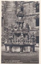 Y262 CPA PALACE OF LINLITHGOW James V Fountain after Restoration