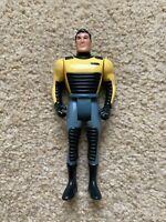 Batman Animated Series - Bruce Wayne Action Figure (Street Jet) - 1993 Kenner