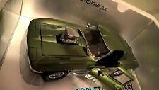 1/18 1967 Corvette Sting Ray Street Machine Green Metallic exoto motorbox