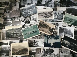 Lotto di 100 cartoline paesaggistiche italiane in b/n