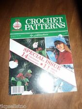 VINTAGE - CROCHET PATTERNS by HERRSCHNERS - 1990 - CHRISTMAS ORNAMENTS & GIFTS