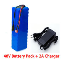 Li-ion Battery 48V 8AH Volt Rechargeable Bicycle 750W E Bike Electric Li-ion