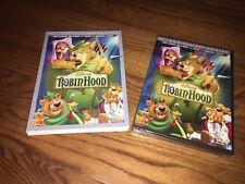 Disney: Robin Hood  (DVD+ Blu-ray+ Digital) 40th Anniversary ED] NEW + Rare OOP