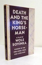 DEATH AND THE KING;S HORSEMAN, Wole Soyinka, Drama, Theater,  HB/DJ