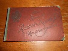 """""""Album Recuerdo del Rosario de Santa Fe (Republica Argentina) Antique photo book"""