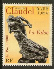 "TIMBRES 3309 NEUF XX LUXE - CAMILLE CLAUDEL - SCULPTURE "" LA VALSE """