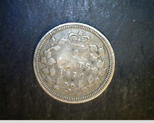 1870 Canada, 5 Cents, .0346  oz Silver (Can-442)
