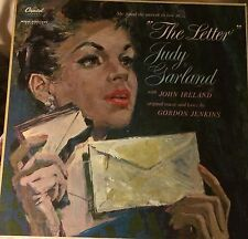 """THE LETTER"" JUDY GARLAND~ TAO1188/1959 ORIGINAL MONO~STAMPED D1 & D2"