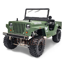 GMADE 1/10 RC JEEP SawBack Military RC TRUCK Drape Green *RTR*