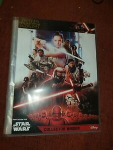 Topps Star Wars Rise Of Skywalker Starter Album With 146 Trading Cards