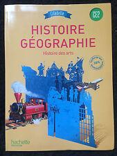 Citadelle Histoire Géographie H. des Arts CE2 Hachette Education 100% NEUF