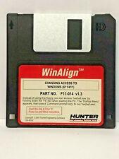 Hunter F11-014 WinAlign Alignment Floppy Disk Software P-75