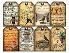 Traditional Grand Vintage Style Gift Tags / Card Toppers