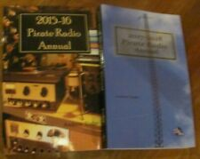 2 copies Pirate Radio Annual with audio Cd, 2017-18 & 15-16 shortwave unlicensed