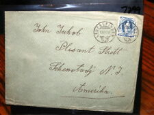 #7299,Seldom Seen,#94A on Cover,Switzerland to NY,1906