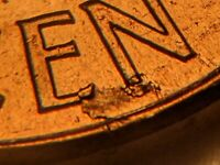 Retained Lamination US Mint Error 1962-D Lincoln Memorial Cent Extremely RARE