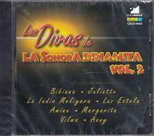 Las Divas de La Sonora Dinamita Vol. 2 CD New Nuevo sealed