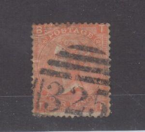 GB QV 1865 4d Vermillion SG94 Plate 10 Fine Used JK1240