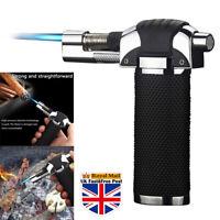 Outdoor Windproof Refillable Butane Gas Baking Flame Welding Torch Jet Lighter ☆