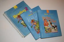 Reading 2 Worktext Teacher Edition and Student Hardcover Books A & B GUC