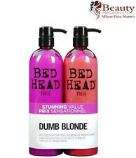 TIGI BED HEAD DUMB BLONDE TWEEN 2 X 750ML SHAMPOO AND CONDITIONER WITH PUMPS DUO