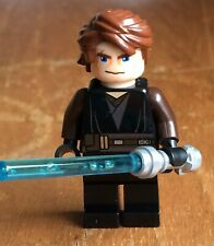 Lego Star Wars Anakin Skywalker Minifigure Clone Wars Variant