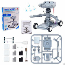Salt Water Powered Robot Kit Kids Science Educational Learning Model Toy Brine