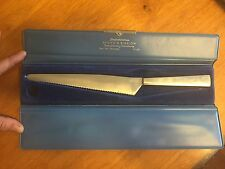 BROWN & BIGELOW Vintage Knife Advertising Italian Made Italy Stainless with Case
