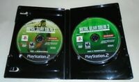 Metal Gear Solid 3: Subsistence GAME DISCS ONLY for Playstation 2 PS2 system