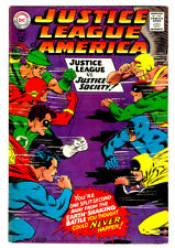 JUSTICE LEAGUE OF AMERICA #56 in VF condition a DC 1967 Silver Age comic