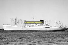 mc1870 - Port Line Cargo Ship - Port Launceston , built 1957 - photo 6x4