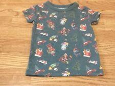 Next Size 4 Years Boys Christmas Tree Green T-Shirt - Brand New