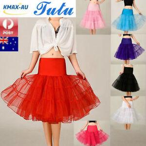 Tutu Skirt 67cm Lady Vintage 50s Petticoat Rockabilly Petticoat Dress Underskirt