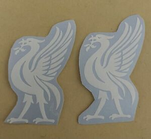 2x Lfc Liverpool Liver-bird Mobile Phone Case Car Laptop Tablet Decal Sticker